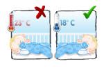Как температура в комнате влияет на сон ребенка